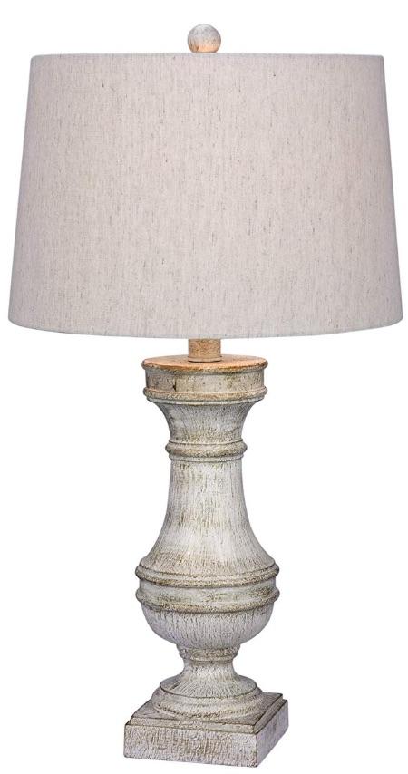 33 Simple Farmhouse Table Lamps White Resin Table Lamp #Farmhouse #FarmhouseTableLamps #FarmhouseLighting #RusticDecor #CountryDecor #FarmhouseDecor