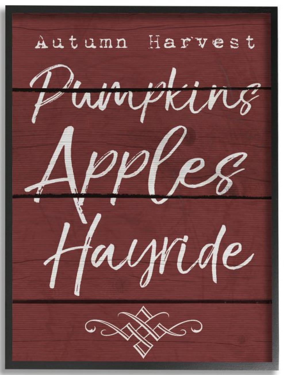 Farmhouse Fall Wall Decor to Welcome Autumn Autumn Harvest Activities #Farmhouse #FallWallDecor #FarmhouseWallDecor #RusticDecor #CountryDecor #FallDecor #AutumnDecor #FallWallArt