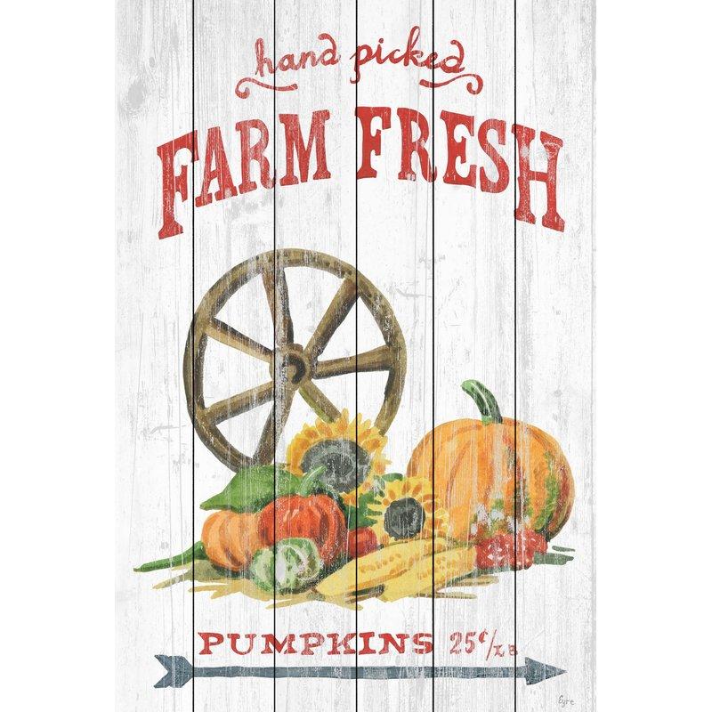 Farmhouse Fall Wall Decor to Welcome Autumn Farm Variety Textual Art #Farmhouse #FallWallDecor #FarmhouseWallDecor #RusticDecor #CountryDecor #FallDecor #AutumnDecor #FallWallArt