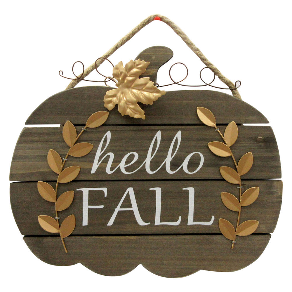 Farmhouse Fall Wall Decor to Welcome Autumn Hello Fall Wall Decor #Farmhouse #FallWallDecor #FarmhouseWallDecor #RusticDecor #CountryDecor #FallDecor #AutumnDecor #FallWallArt