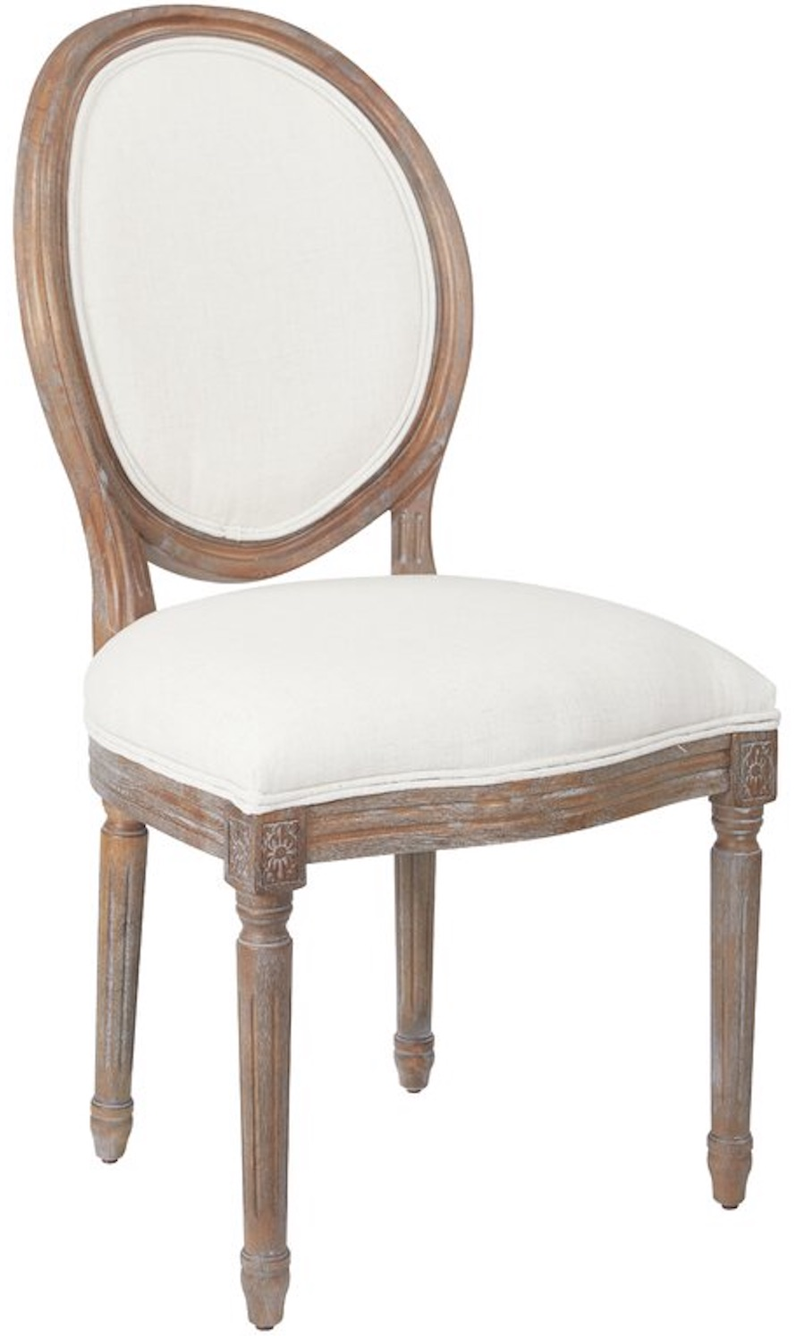 Dining Chairs for Family Gatherings Haleigh Oval Back Upholstered Dining Chair #Farmhouse #Chairs #FarmhouseChairs #RusticDecor #CountryDecor #FarmhouseDecor #VintageInspired #DiningChairs #FamilyDinners #FamilyMeals #FamilyTime