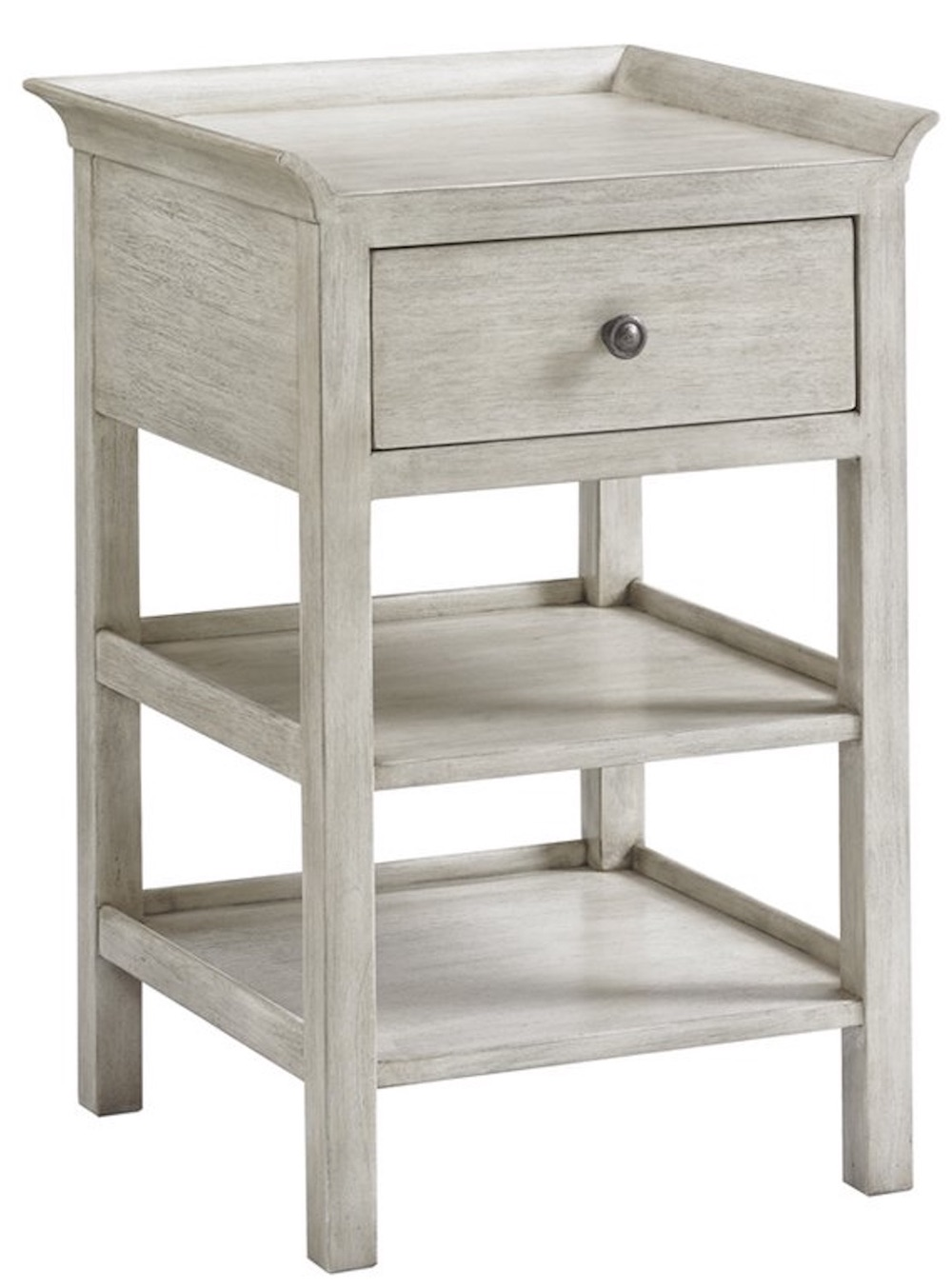 21 Farmhouse Nightstands for Nighttime Necessities Oyster Bay Drawer Pelham Nightstand #Farmhouse #NightStands #FarmhouseNightstands #RusticDecor #CountryDecor #FarmhouseDecor #VintageInspired #BedsideTables