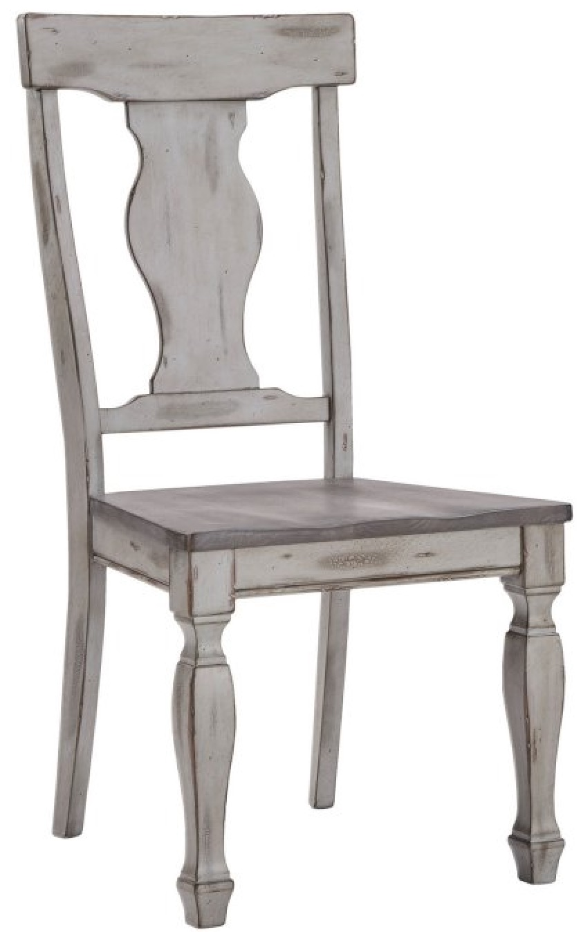Dining Chairs for Family Gatherings Two Tone Dining Side Chair #Farmhouse #Chairs #FarmhouseChairs #RusticDecor #CountryDecor #FarmhouseDecor #VintageInspired #DiningChairs #FamilyDinners #FamilyMeals #FamilyTime