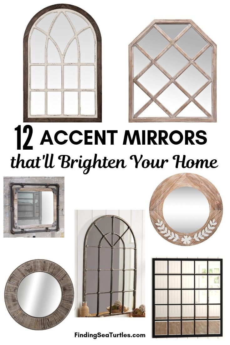 12 Accent Mirrors With Rustic Farmhouse Style Finding Sea Turtles