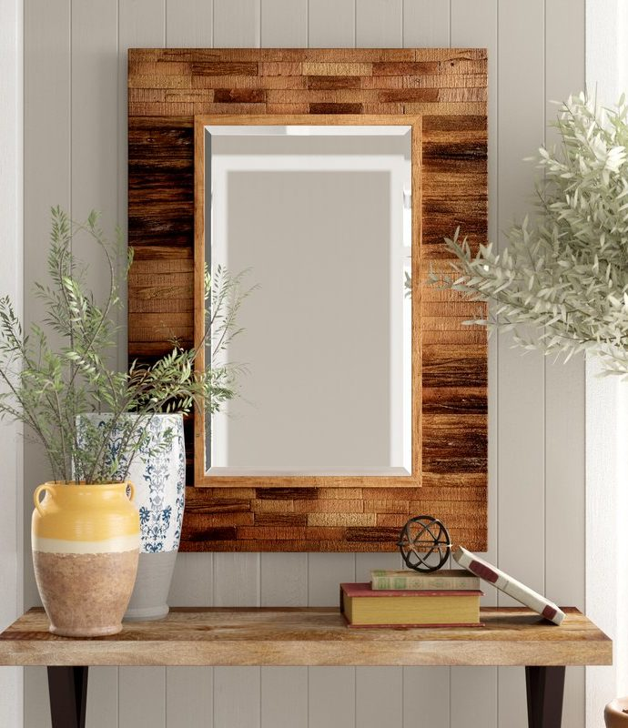 12 Accent Mirrors with Rustic, Farmhouse Style