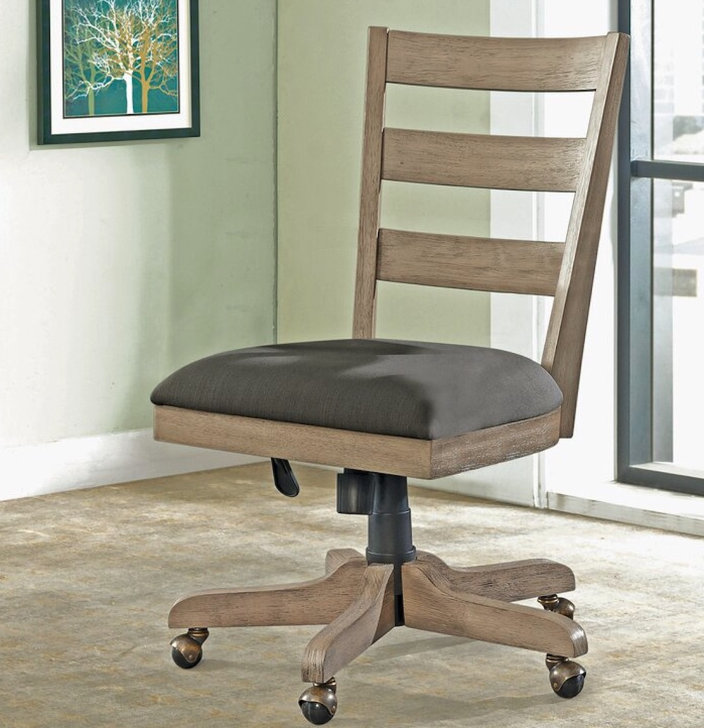 Chairs for Your Workspace Braintree Sandalfoot Perspectives Banking Chair #DeskChairs #HomeOffice #HomeOfficeDeskChairs #OfficeChairs #Decor #FarmhouseDecor #WorkingMoms #WorkFromHome