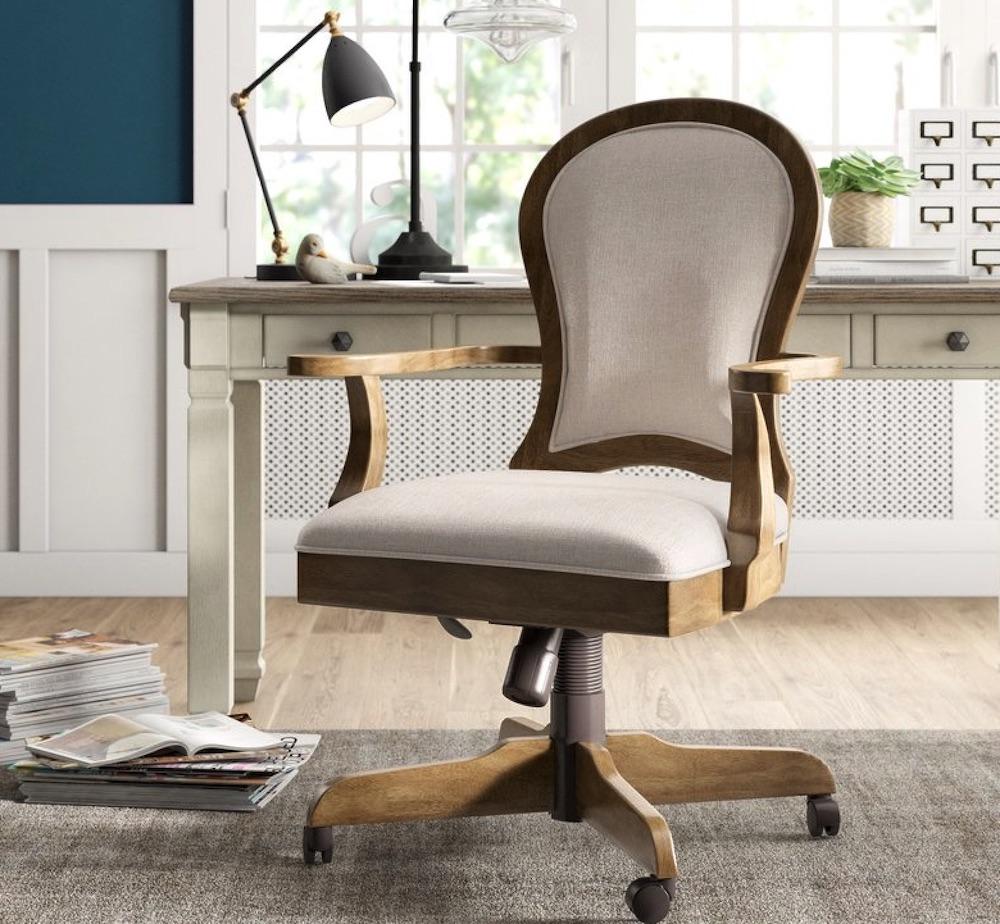 Chairs for Your Workspace Brampton Abington Task Chair #DeskChairs #HomeOffice #HomeOfficeDeskChairs #OfficeChairs #Decor #FarmhouseDecor #WorkingMoms #WorkFromHome