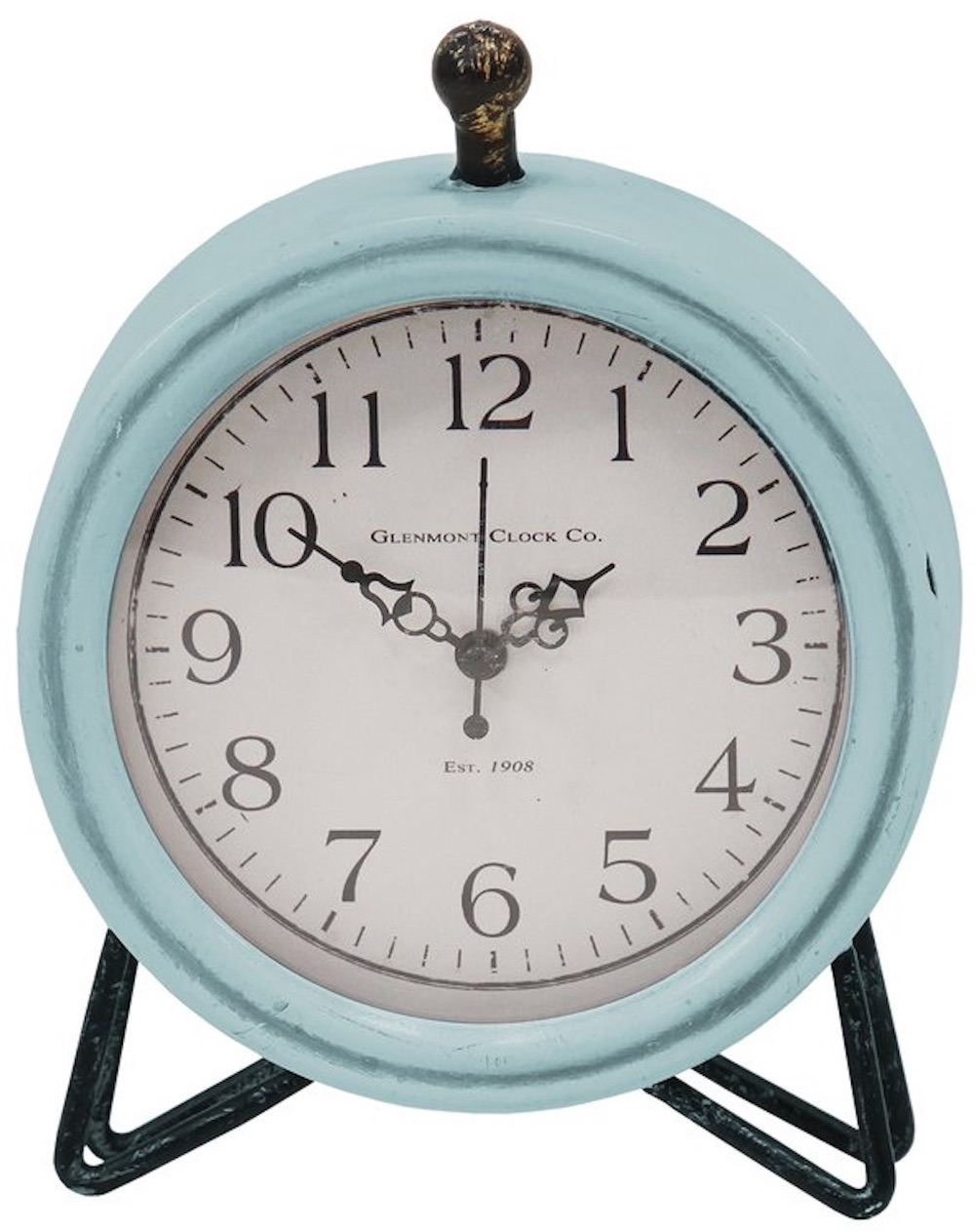 Clocks with Vintage Style Dixie Tabletop Clock #Clocks #MantleClocks #Timepiece #TableTopDecor #Decor