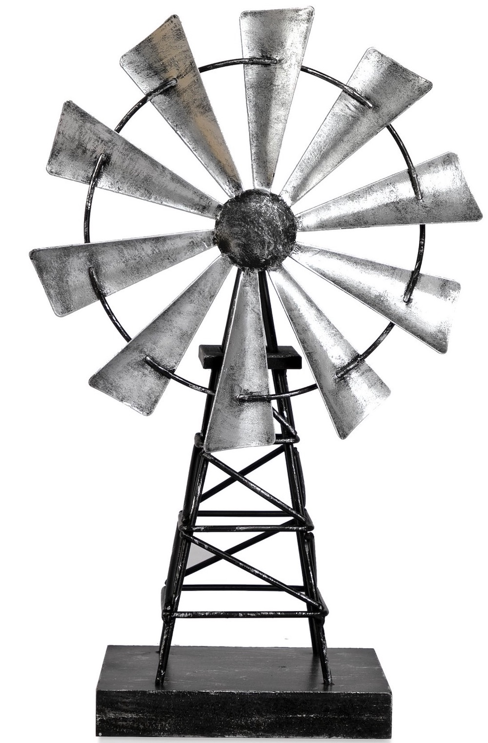 Decorations for a Festive Home Galvanized Metal Windmill Thanksgiving Tabletop Decoration #Decor #ThanksgivingDecor #AffordableDecor #AffordableFallDecor #CheapThanksgivingDecor #QuickAndEasyDecor #BudgetFriendlyDecor