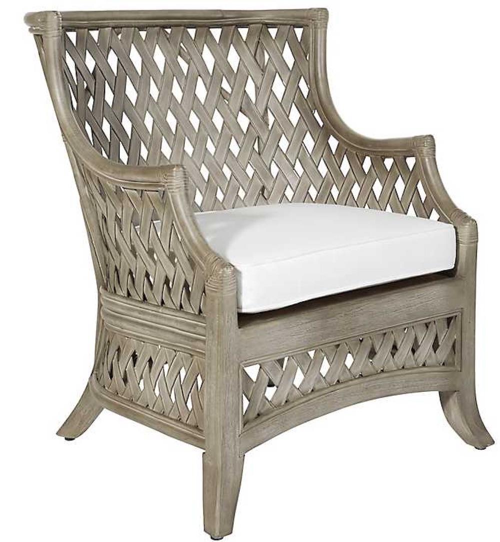 Chairs for Neutral Decors Gray Kolina Rattan Accent Chair #Chairs #AccentChairs #Decor #VintageDecor #FarmhouseDecor #NeutralDecor #Furniture