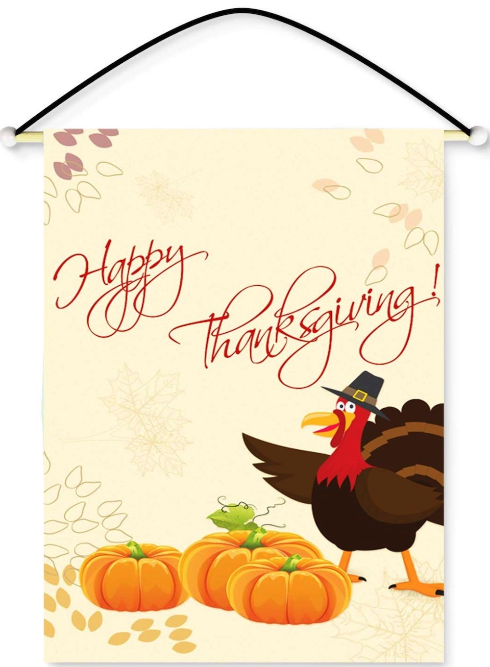 Decorations for a Festive Home Happy Thanksgiving Turkey Wall Banner #Decor #ThanksgivingDecor #AffordableDecor #AffordableFallDecor #CheapThanksgivingDecor #QuickAndEasyDecor #BudgetFriendlyDecor
