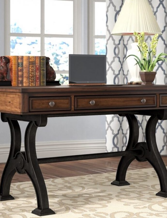 23 Home Office Desks for Industrial and Country Decors