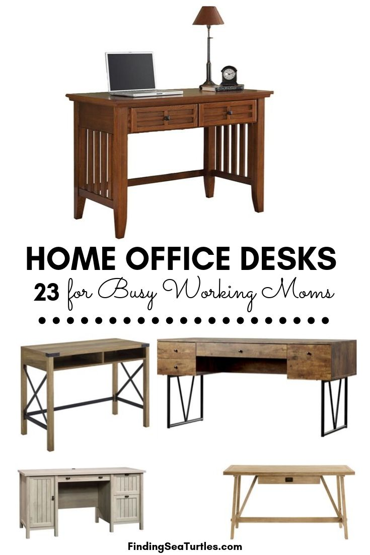 Home Office Desks 23 for Busy Working Moms #Desks #HomeOffice #HomeOfficeDesks #Farmhouse #Decor #VintageDecor #FarmhouseDecor #IndustrialDecor #WorkingMoms #WorkFromHome
