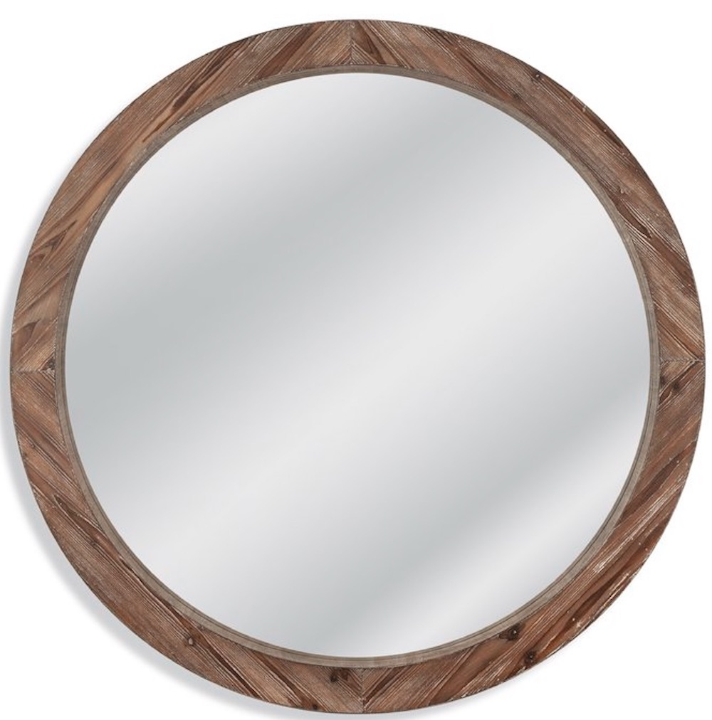 Mirrors with Rustic, Farmhouse Style Jessie Wall Mirror #DecorativeMirrors #Mirrors #AccentMirrors #Decor #VintageDecor #FarmhouseDecor #RusticDecor