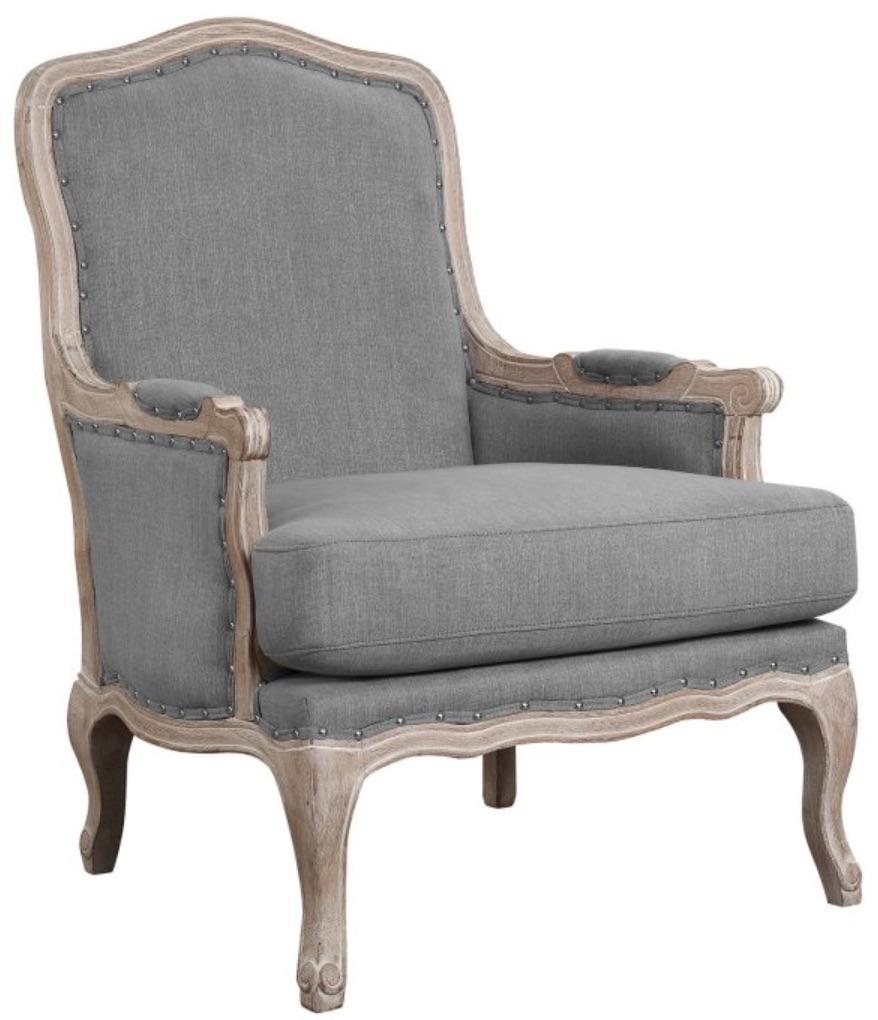 Chairs for Neutral Decors Regal Arm Chair #Chairs #AccentChairs #Decor #VintageDecor #FarmhouseDecor #NeutralDecor #Furniture