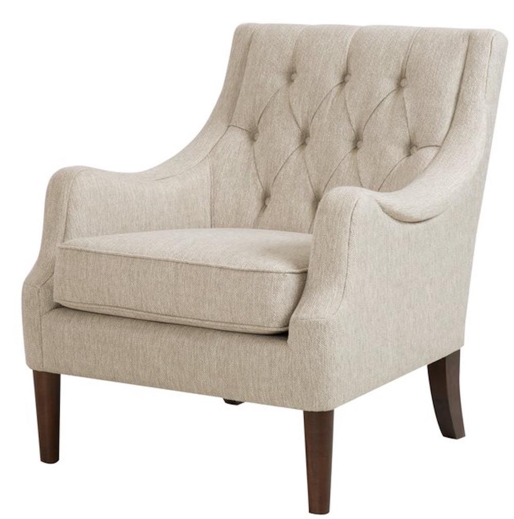 Chairs for Neutral Decors Rogersville Armchair #Chairs #AccentChairs #Decor #VintageDecor #FarmhouseDecor #NeutralDecor #Furniture