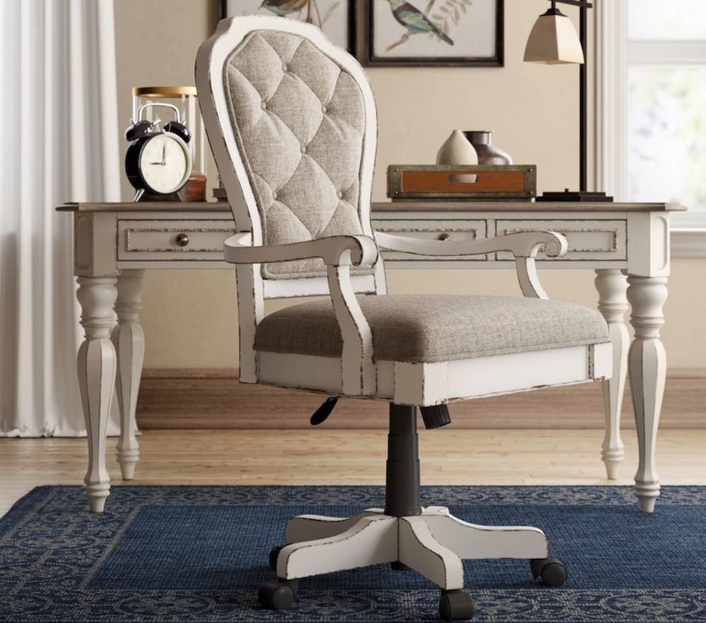 Chairs for Your Workspace Salinas Task Chair #DeskChairs #HomeOffice #HomeOfficeDeskChairs #OfficeChairs #Decor #FarmhouseDecor #WorkingMoms #WorkFromHome