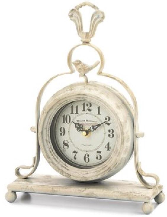 Clocks with Vintage Style Tabletop Clock #Clocks #MantleClocks #Timepiece #TableTopDecor #Decor