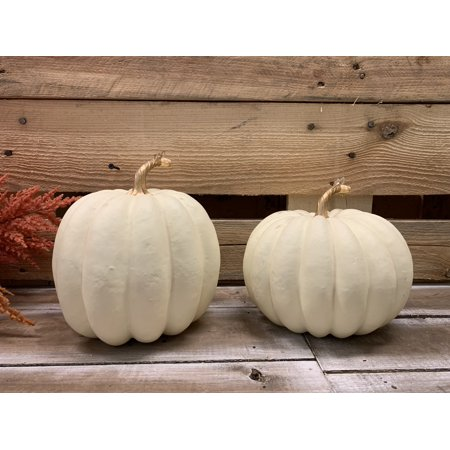 Decorations for a Festive Home Thanksgiving Cream Pumpkins Decoration #Decor #ThanksgivingDecor #AffordableDecor #AffordableFallDecor #CheapThanksgivingDecor #QuickAndEasyDecor #BudgetFriendlyDecor