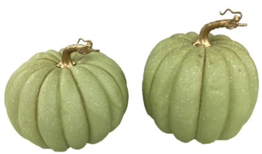 Decorations for a Festive Home Thanksgiving Green Pumpkins Decoration #Decor #ThanksgivingDecor #AffordableDecor #AffordableFallDecor #CheapThanksgivingDecor #QuickAndEasyDecor #BudgetFriendlyDecor