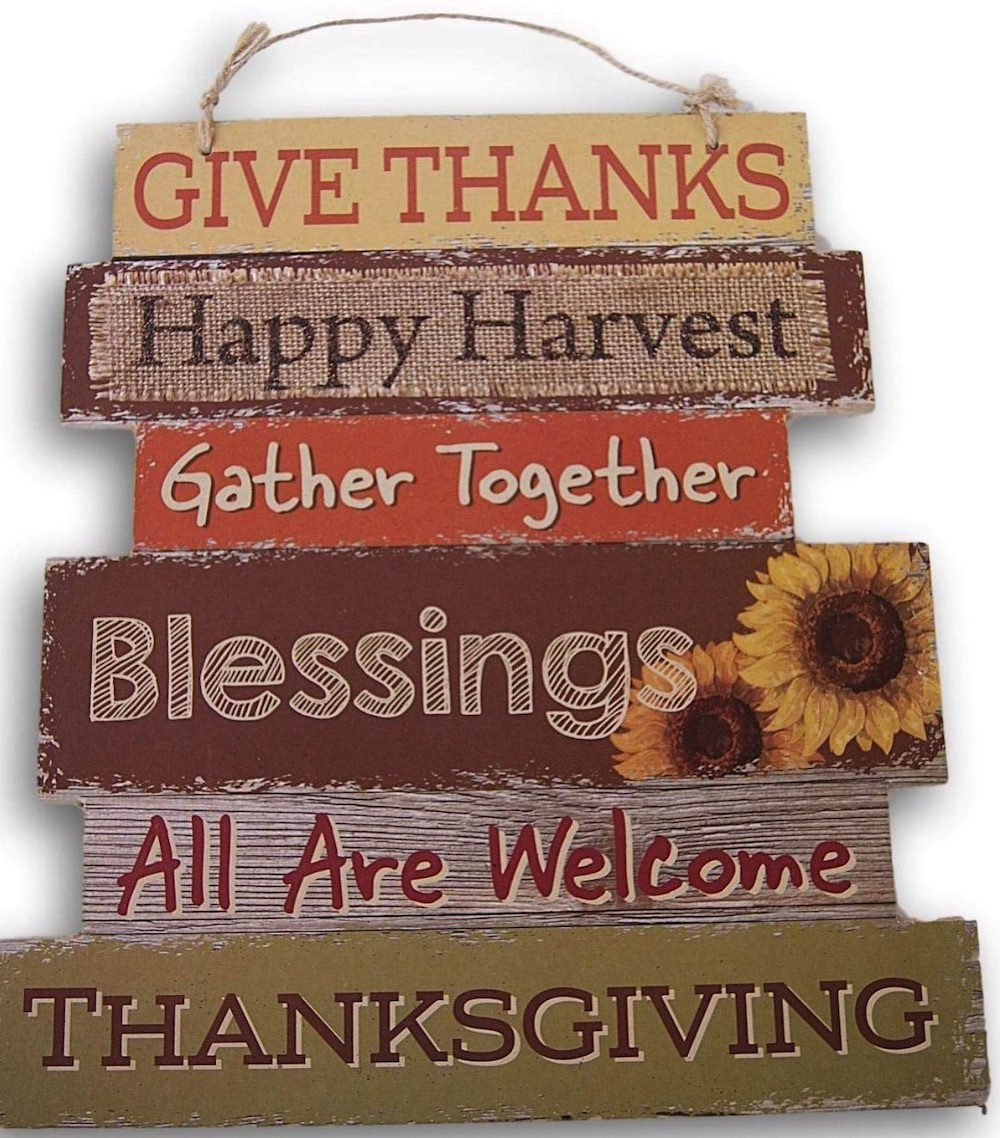 Thanksgiving Decorations for a Festive Home Thanksgiving Autumn Sign #Decor #ThanksgivingDecor #AffordableDecor #AffordableFallDecor #CheapThanksgivingDecor #QuickAndEasyDecor #BudgetFriendlyDecor