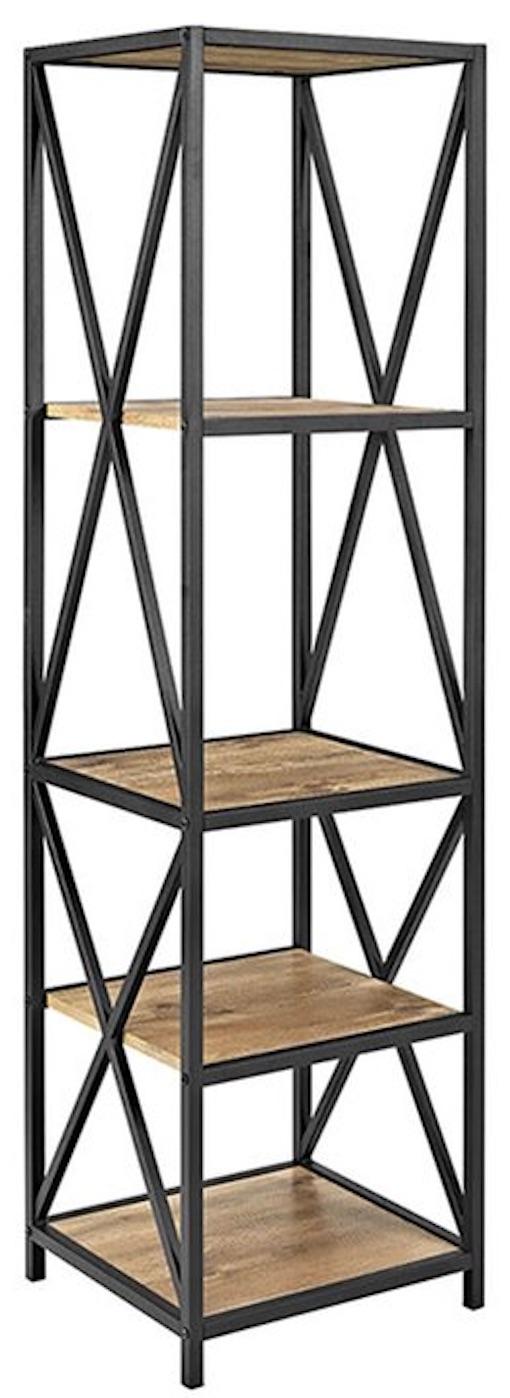 Industrial Bookcases Augustus Etagere Industrial Bookcase #Decor #IndustrialDecor #Bookcases #IndustrialBookcases #HomeOffice #HomeStorage #Organization