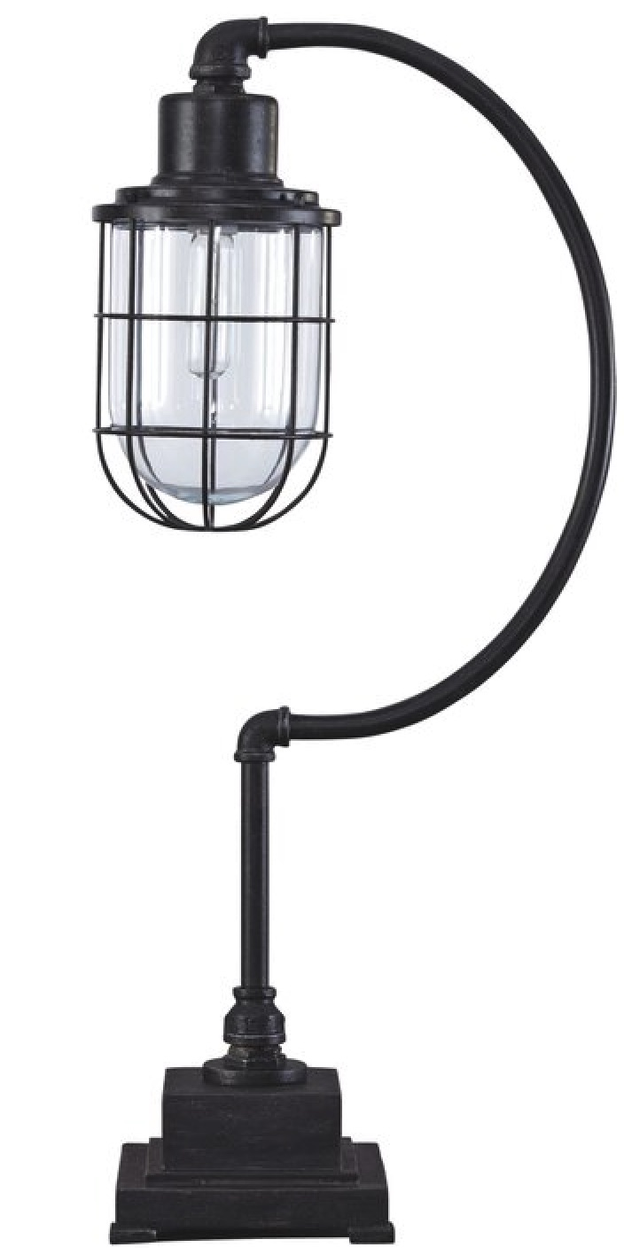 Industrial Desk Lamps for your Workspace Trego Desk Lamp #DeskLamps #OfficeLamps #HomeOffice #HomeOfficeDeskLamp #Decor #FarmhouseDecor #IndustrialDecor #WorkingMoms #WorkFromHome
