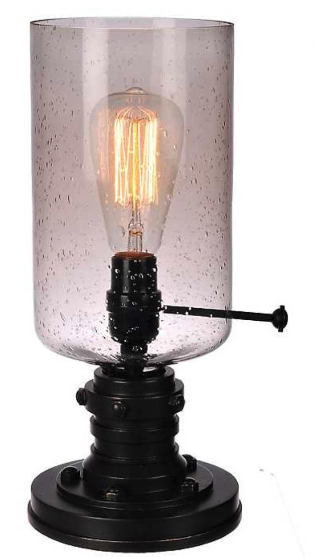 Lighting for your Workspace Vintage Industrial Edison Bulb Uplight #DeskLamps #OfficeLamps #HomeOffice #HomeOfficeDeskLamp #Decor #FarmhouseDecor #IndustrialDecor #WorkingMoms #WorkFromHome