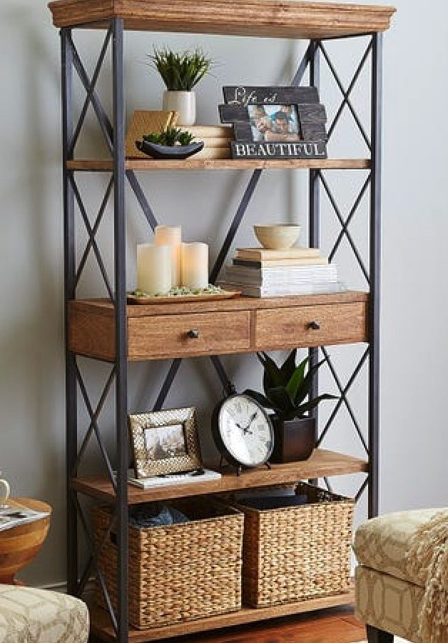 17 Industrial Bookcases for the Home Office