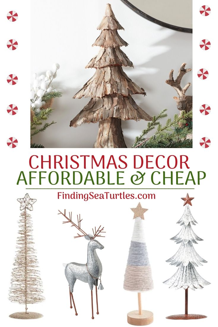 CHRISTMAS DECOR Affordable and Cheap #Decor #ChristmasDecor #AffordableChristmasDecor #Christmas #ChristmasAccents #AffordableDecor