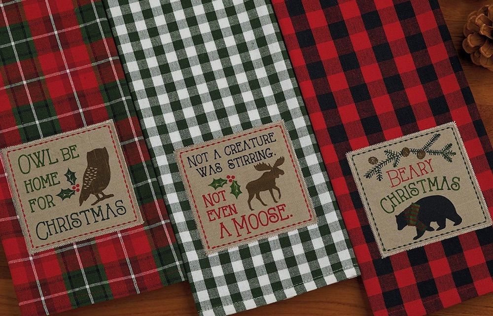 Holiday Decor Christmas Holiday Dish Towels #Decor #ChristmasDecor #AffordableChristmasDecor #Christmas #ChristmasAccents #AffordableDecor