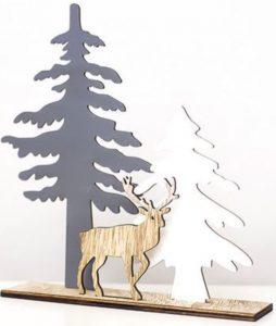 Rustic Decor Christmas Wooden Elk #Decor #ChristmasDecor #RusticChristmas #RusticChristmasDecor #Christmas ChristmasCabin #ChristmasLodge #ChristmasAccents #HolidayDecor