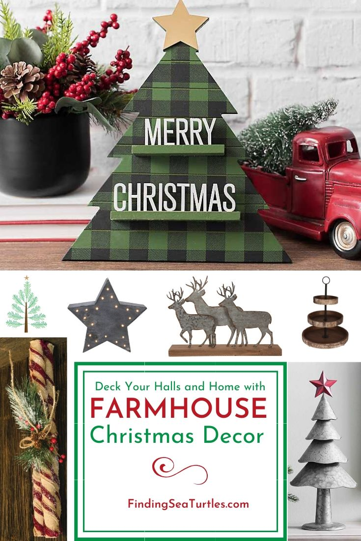 Deck Your Halls Home with Farmhouse Christmas Decor #Decor #Christmas #Farmhouse #ChristmasDecor #FarmhouseDecor #FarmhouseChristmasDecor #HolidayDecor