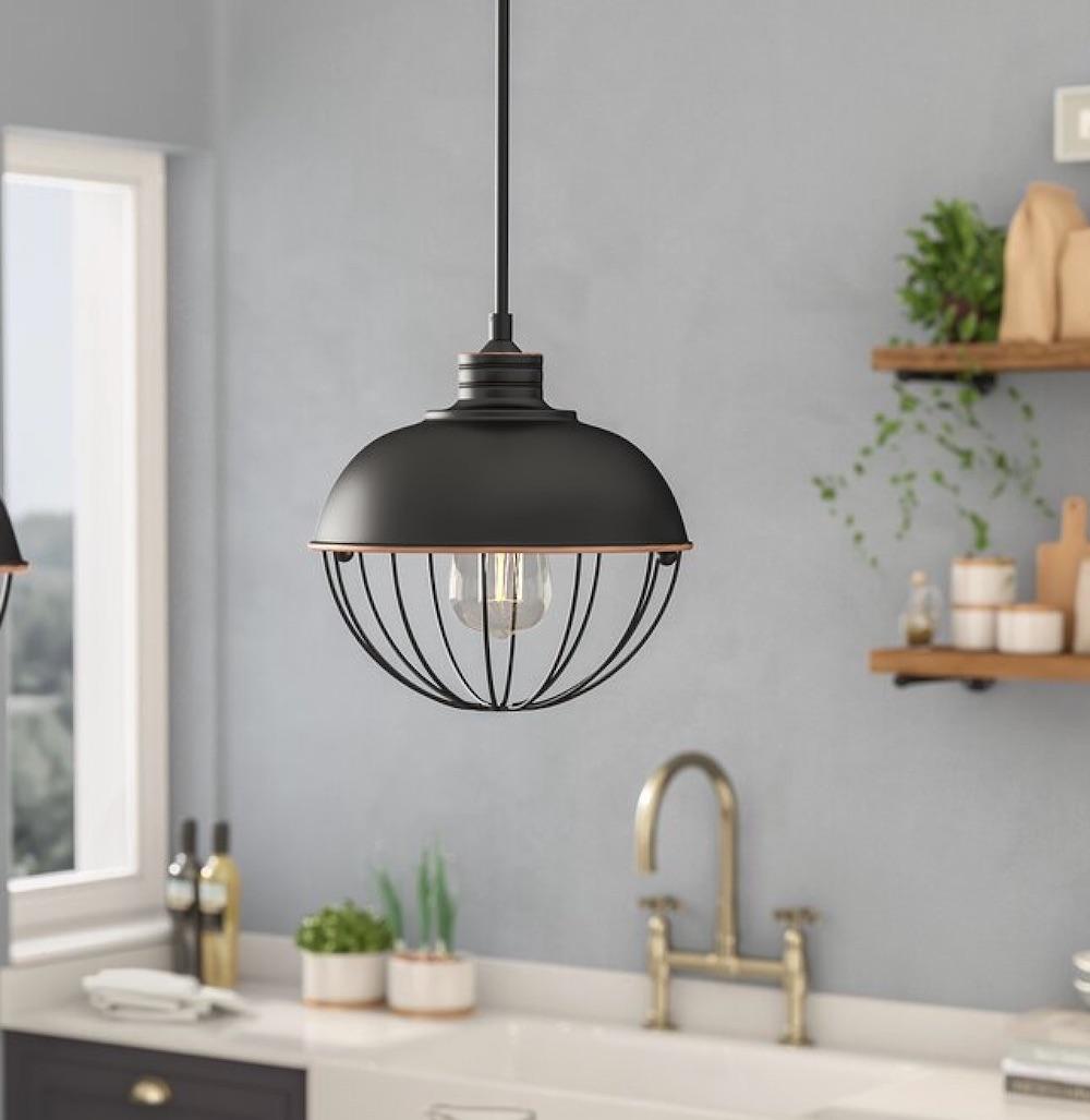 11 Best Warehouse Inspired Lighting Demi Globe Pendant #Decor #IndustrialDecor #IndustrialLighting #IndustrialPendants #WarehouseDecor #FactoryInspiredDecor