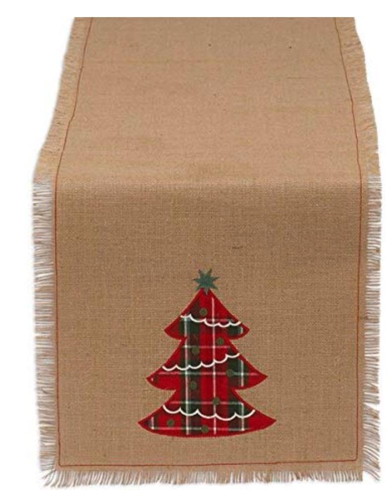 Holiday Decor Holiday Embroidered Tree #Decor #ChristmasDecor #AffordableChristmasDecor #Christmas #ChristmasAccents #AffordableDecor