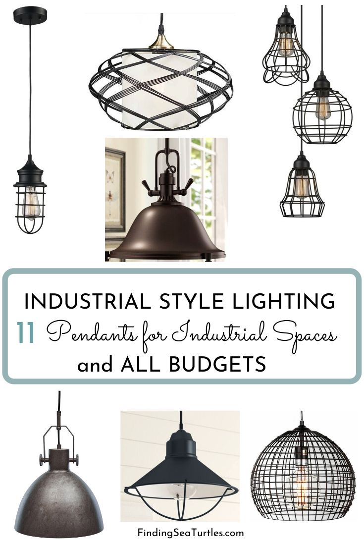 INDUSTRIAL STYLE LIGHTING 11 Pendants for Industrial Spaces and All Budgets #Decor #IndustrialDecor #IndustrialLighting #IndustrialPendants #WarehouseDecor #FactoryInspiredDecor
