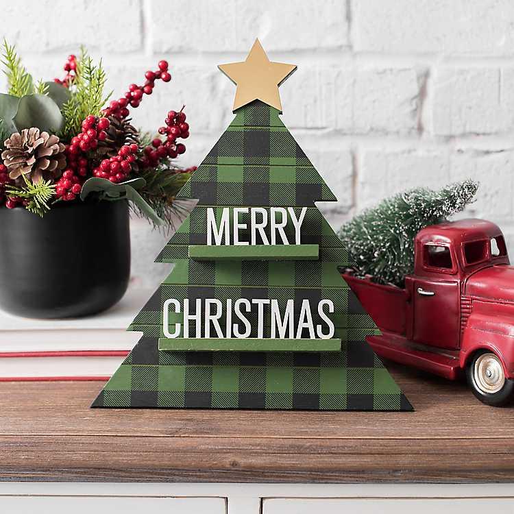 Celebrate the Season Merry Christmas Word Block #Decor #Christmas #Farmhouse #ChristmasDecor #FarmhouseDecor #FarmhouseChristmasDecor #HolidayDecor