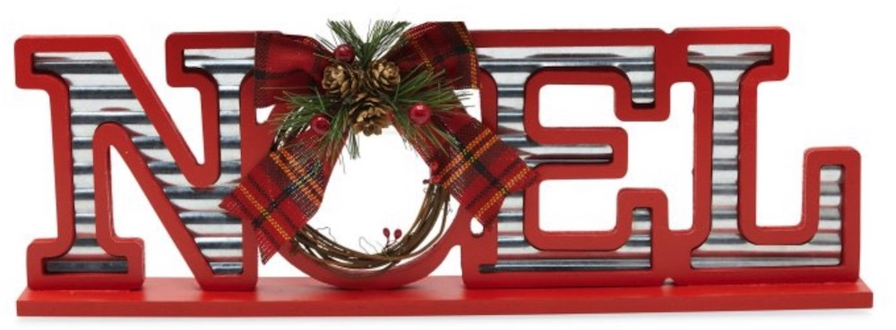 37 Affordable Christmas Accents Noel Sign #Decor #ChristmasDecor #AffordableChristmasDecor #Christmas #ChristmasAccents #AffordableDecor
