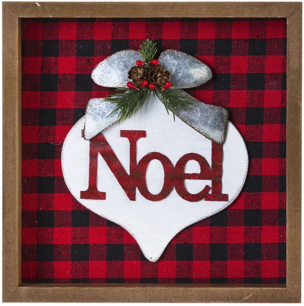Affordable Christmas Accents Noel Tabletop Décor #Decor #ChristmasDecor #AffordableChristmasDecor #Christmas #ChristmasAccents #AffordableDecor