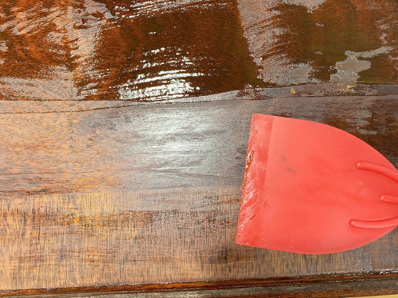 Prepare Table for Refinishing - Remove the Stripper and Varnish #DIY #DIYFurnitureStripping #FurnitureRefinish #VarnishStripping