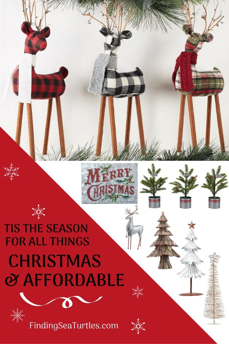 TIS THE SEASON For All Things Christmas and affordable #Decor #ChristmasDecor #AffordableChristmasDecor #Christmas #ChristmasAccents #AffordableDecor