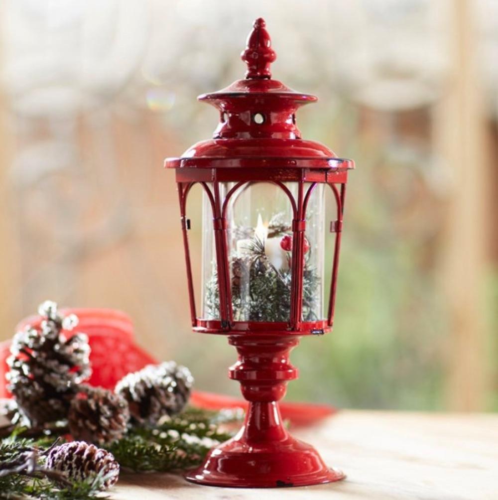 Celebrate the Season Traditional Lantern #Decor #Christmas #Farmhouse #ChristmasDecor #FarmhouseDecor #FarmhouseChristmasDecor #HolidayDecor