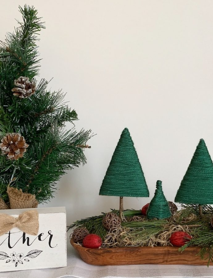 How to Create a Rustic Christmas Centerpiece