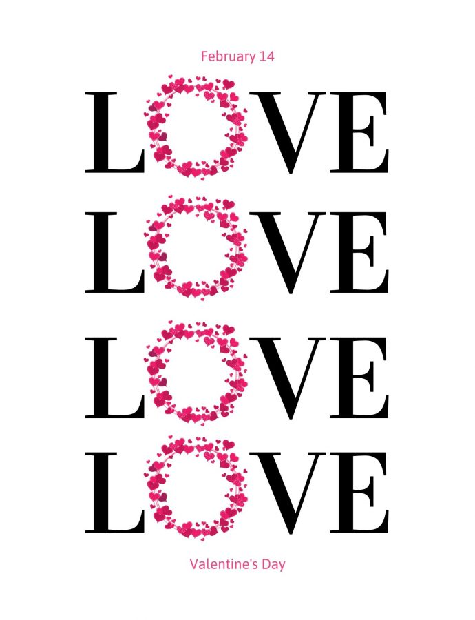 St. Valentines Day Free Printable Wall Art