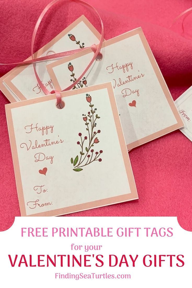 FREE PRINTABLE GIFT TAGS for your Valentine's Day Gifts #ValentinesDay #ValentineGifts #DIY #GiftTags