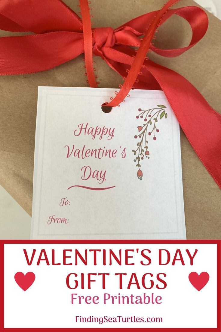 VALENTINE'S DAY Gift Tags Free Printable #ValentinesDay #ValentineGifts #DIY #GiftTags