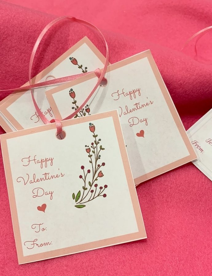 St. Valentines Day Free Printable Gift Tags
