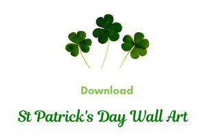 Download St Patrick Day Wall Art