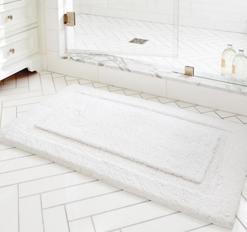Resort Skid-Resistant Bath Rug #Spa #bathroom #HomeSpa #PamperYourself #SpaAccessories #MeTime #BathSpa #DIYHomeSpa #Relax #Soothing