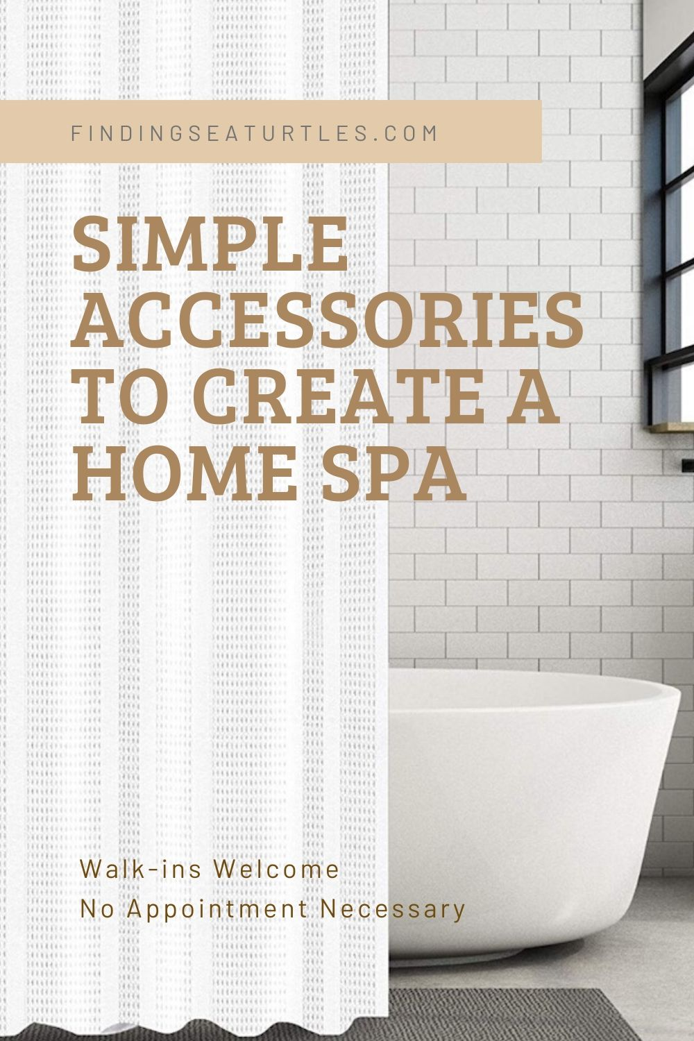 Simple Accessories to Create a Home Spa Walk ins Welcome #Spa #bathroom #HomeSpa #PamperYourself #SpaAccessories #MeTime #BathSpa #DIYHomeSpa #Relax #Soothing